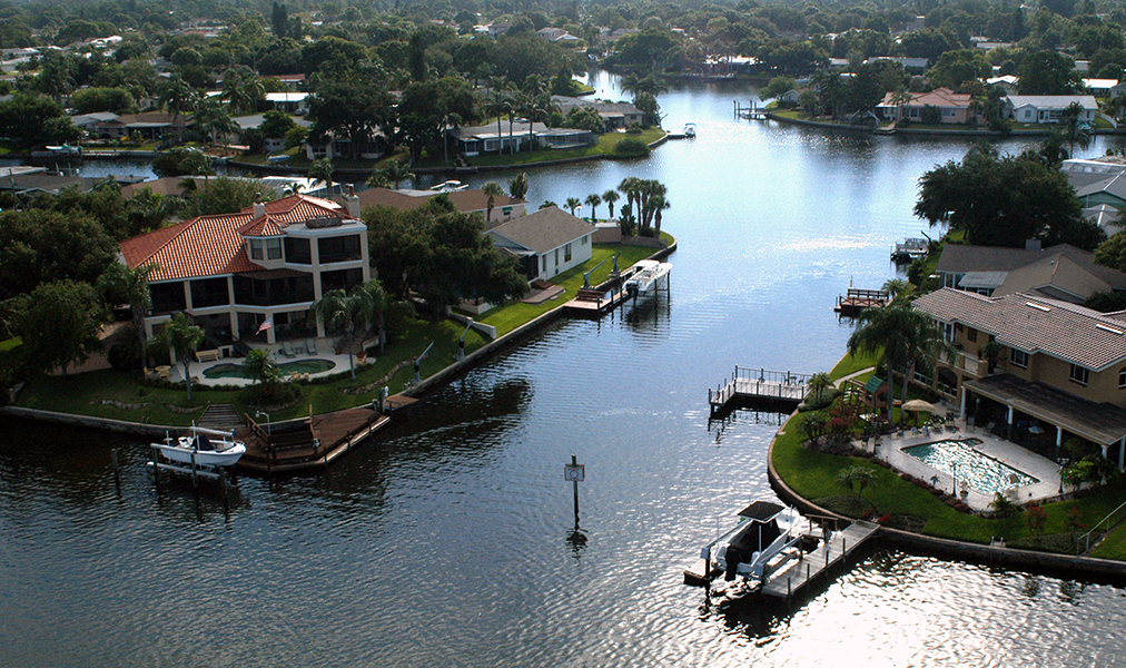 Snell Isle Waterfront Homes, St. Petersburg Florida